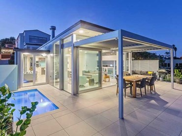 Outdure aluminium sub frame system helping create for Cost of outdoor living space