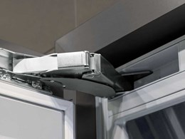 Effortless soft closing refrigerator doors with Hettich's K05 hinges