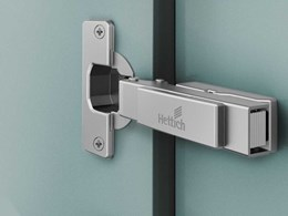 Intermat fast assembly hinges with optional soft close action