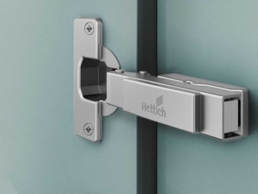 Intermat fast assembly hinge (Photo: Hettich)