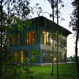 Philippe Starck's new super-green home produces 50 percent more energy than it consumes