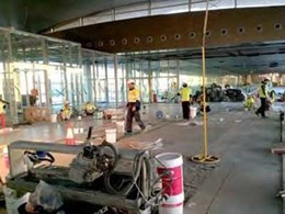 Rapid application Ardex products help meet tiling project deadline at Perth International Airport terminal