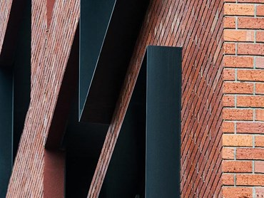 Pace of Collingwood apartments with Robertson facade inlay bricks designed by SJB Architects