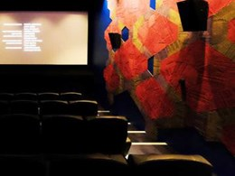Adelaide cinema upgrade features carpet tiles on interior walls