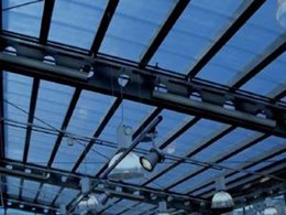 Multifunction panels for translucent roofing in internal and external spaces