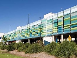 Case Study: Park Beach Plaza Car Park impresses with Atmosphere facade