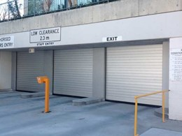 DMF high speed doors installed at Parliament House carparks