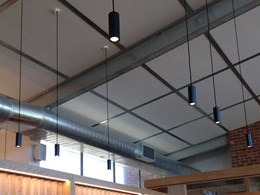Working with Durra panels in ceiling and wall applications