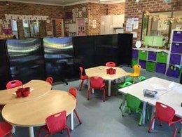 Creating better learning environments at Penrith day care centre with PPA room dividers