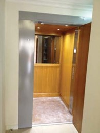 Phoenix elevator allows full access at Heisig display home
