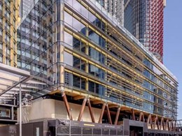 Pluvia system ensures reliable roof drainage at International House, Barangaroo
