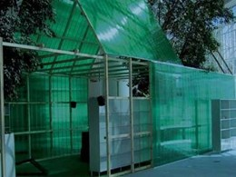 Polycarbonate panels for DIY roof and wall applications