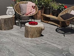 Porcelain stoneware for challenging indoor and outdoor paving applications