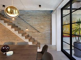Krause bricks connect old and new at heritage Potts Point home