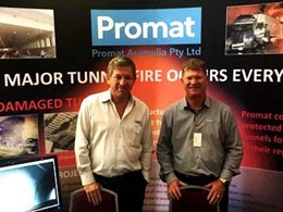 Promat Australia sponsors tunnel operations and maintenance conference in Sydney