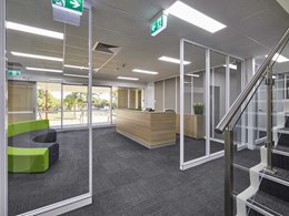 OfficePace installs 50 workstations with privacy screens for Protecta Group