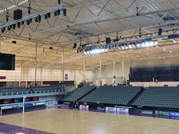 Acoustic ceiling and wall systems installed at Nissan Arena
