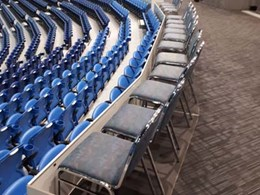 Rod Laver Arena meets disability seating compliance with QUATTRO stage system