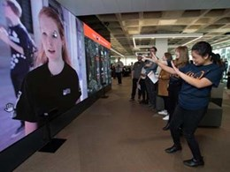 Ci installs giant interactive LED wall at QUT to digitally engage visitors