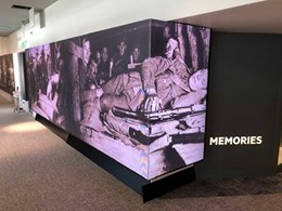 Ci installed display modules tell the Anzac story at Queensland Museum