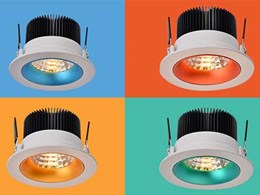 Designer downlights for high end retail and office interiors