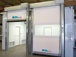 High speed doors saving energy in cold storage environments