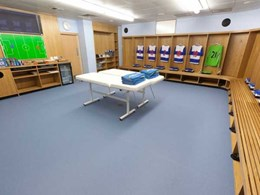 Altro Unity 25 new generation heavy duty safety flooring debuts at Reading Football Club
