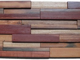 Deziner Panels' recycled timber complements colour trends for interiors