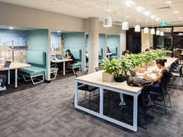 Signature flooring helps create perfect breakout spaces at Sydney Uni student residence