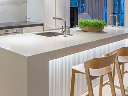 Simple, sleek and sophisticated design drives kitchen renovation