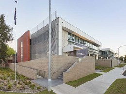 Cemintel's Surround cladding meets design brief for Riverstone Police Station