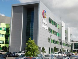 Alpolic/fr panels on Gold Coast hospital facade challenge traditional norms