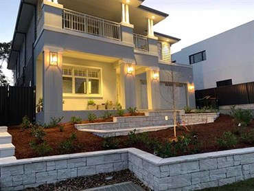 The Roseville home featuring StoneFace masonry blocks