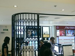 ATDC retractable gates secure new duty free store at Ho Chi Minh City airport