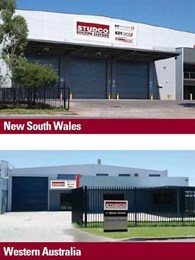 Studco opens new facilities in Prestons, NSW and Welshpool, WA