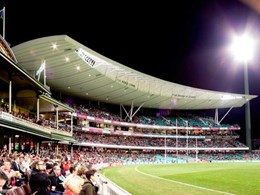 ShapeShell Monocoque sections added to roof at the SCG in award-winning installation