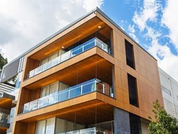 Prodema composite panels specified for Stockwell's Riverpoint Apartments facade