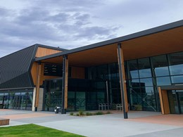 InnoClad composite timber cladding delivers a clean finish to Christchurch school