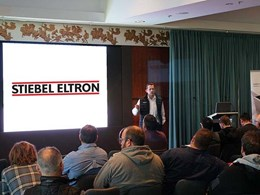 Solar-ready Stiebel heat pumps showcased at SMA Roadshow in Melbourne