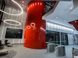Red is Green for hi-tech data centre by Greenbox