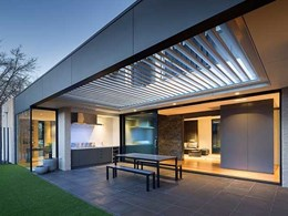 AWS ThermalHEART ensuring thermal efficiency at Schlich House in Canberra