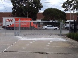 7-metre Magnetic track gate installed at distribution centre