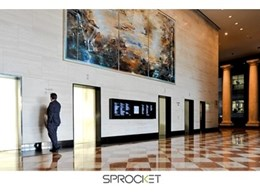 101 Collins Street installs Sprocket's multi-screen Fastfind directory