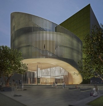Kerry Hill Designs Perth Library First Civic Building In