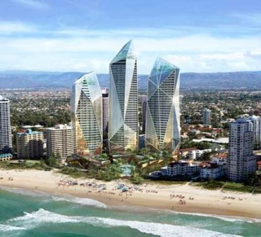Triple Tower Approved On Gold Coast Dbi Design And