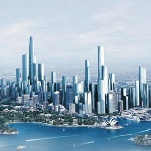 Sydney architects share their visions for sydney in 2050 for Architecture 2050