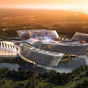 Dramatic New Images Of 4 2 Billion Casino And Resort In