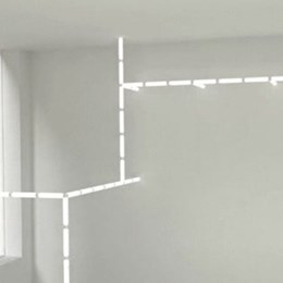Choi+Shine Architect's magnetic modular lighting system can be arranged and deconstructed in seconds