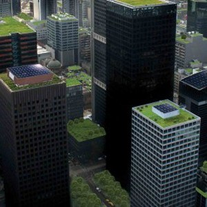 green roofs or solar panels to crown all new buildings in france architecture and design. Black Bedroom Furniture Sets. Home Design Ideas