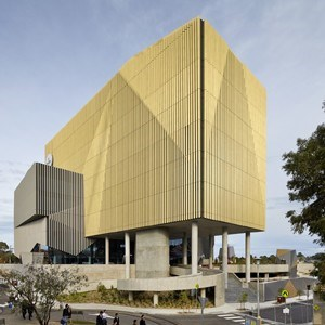 Woods Bagot Take Gold And Silver Louvres To New Deakin